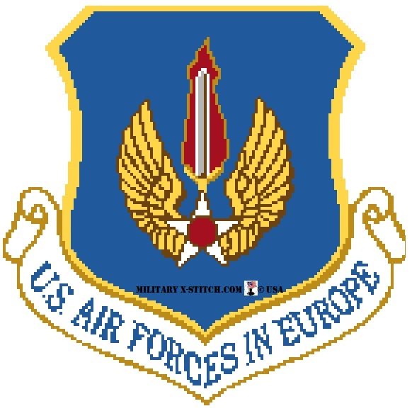 Air Forces in Europe (USAFE) Insignia