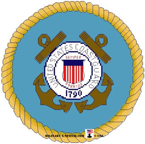Coast Guard Emblem 8 in. PDF