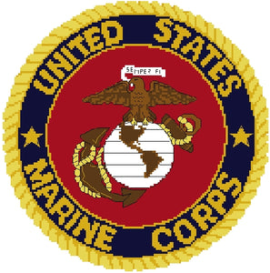 Marine Corps Emblem 10 in.