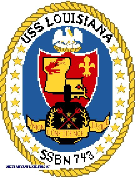 USS Louisiana Kit