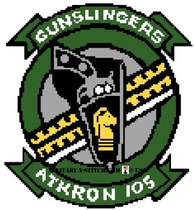 VFA-105 Gunslingers Fighter Squadron Insignia