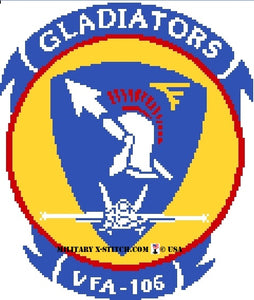 VFA-106 Gladiators Fighter Squadron Insignia