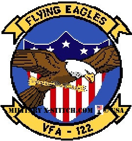 VFA-122 Flying Eagles Fighter Squadron Insignia
