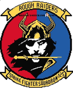 VFA-125 Rough Riders Fighter Squadron Insignia
