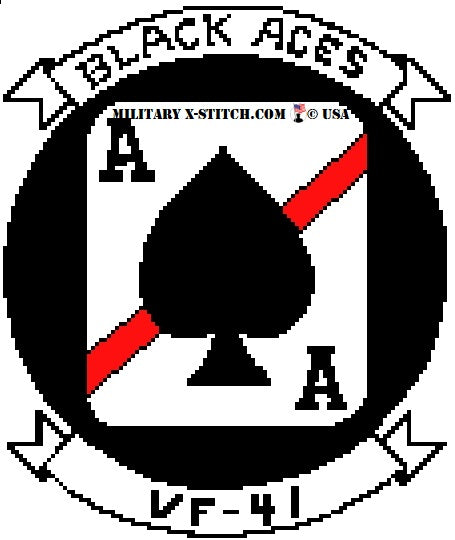 VFA-41 Black Aces Fighter Squadron Insignia