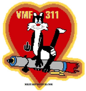 VMF-311 (Friday Patch) Insignia