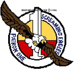 VP-1 Screaming Eagles Patrol Squadron Insignia
