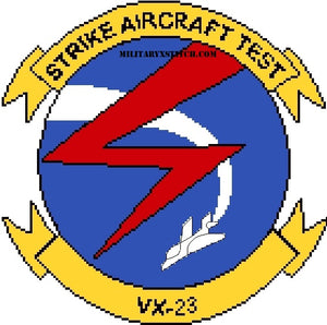 Marine Corps Air Test & Evaluation Sq (VX-23) Insignia