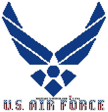 Air Force Logo w/ Colors