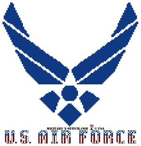 Air Force Logo with Colors