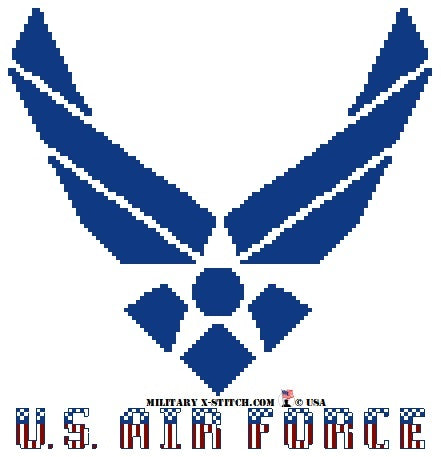 Air Force Logo with Colors PDF