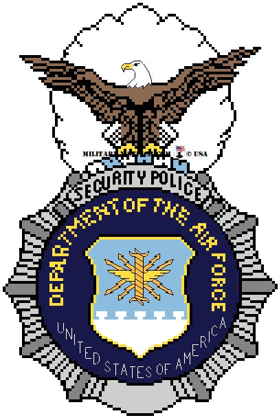 Security Police Insignia (USAF)