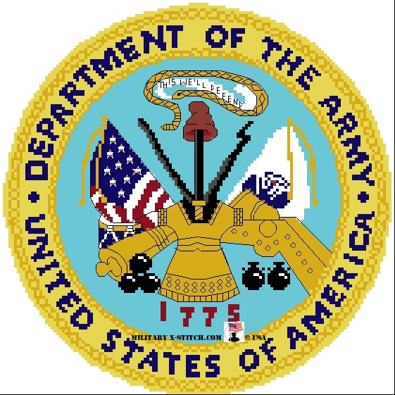 Department of the Army Seal 10 in. PDF