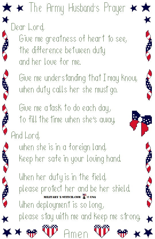 Army Husband's Prayer PDF