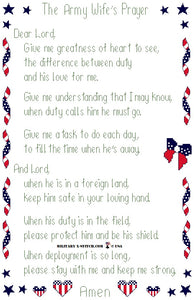 Army Wife's Prayer