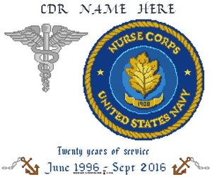 Navy Nurse & Caduceus