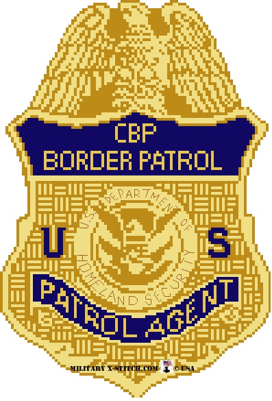 CBP Agent badge