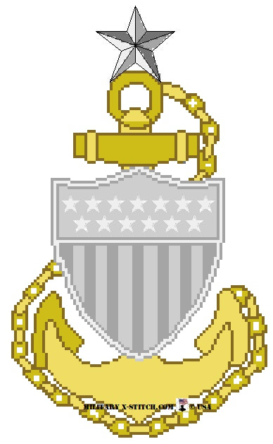 Coast Guard  SCPO Insignia
