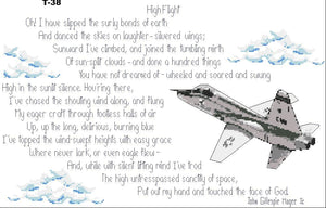 High Flight Poem with T-38