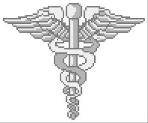 Navy Hospital Corpsman Collar Insignia