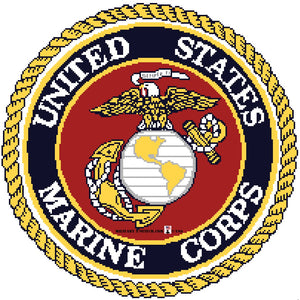 Marine Corps Emblem 14 in.