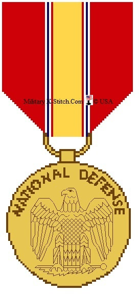 Medal, National Defense Service PDF