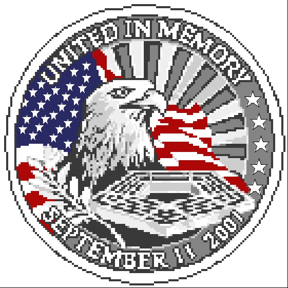 United In Memory (Sept 11, 2001) Emblem