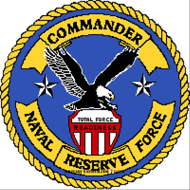 Naval Reserve Force Commander Insignia