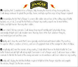 Ranger Creed