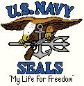"SEALS ""My Life For Freedom"" Insignia"