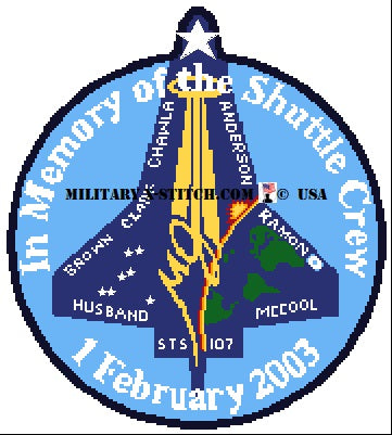 Space Shuttle Crew 2003, In Memory Of