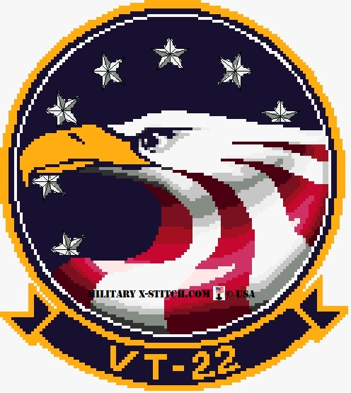 VT-22 Golden Eagles Training Squadron Insignia
