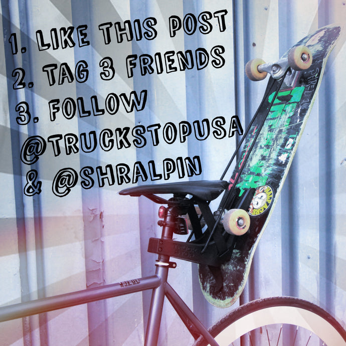 Shralpin & Truck Stop Product Giveaway!