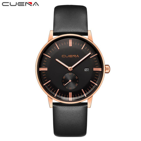 Men Casual Checkers Quartz Analog WristWatch