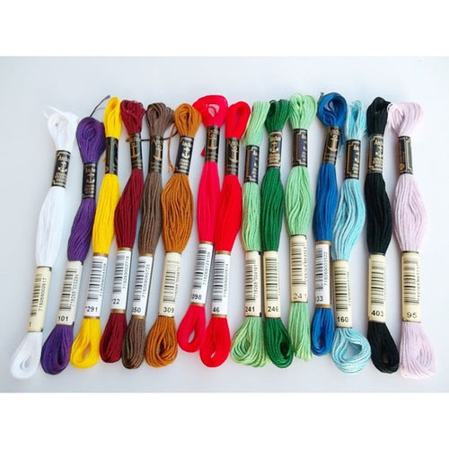 Embroidery Floss Hair 8m 6ply Accessory - Elegance24seven Hair