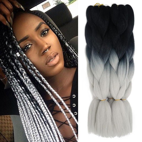 X Pression Ultra Braid 165g (Ombre 2 & 3 Colors) - Elegance24seven