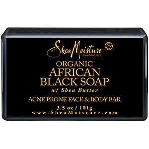 Shea Moisture Organic African Black Soap with Shea Butter (3.5 oz) - Elegance24seven Hair
