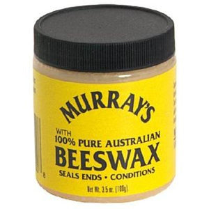 Murray's Black 100% Pure Beeswax WHITE 4oz - Elegance24seven Hair