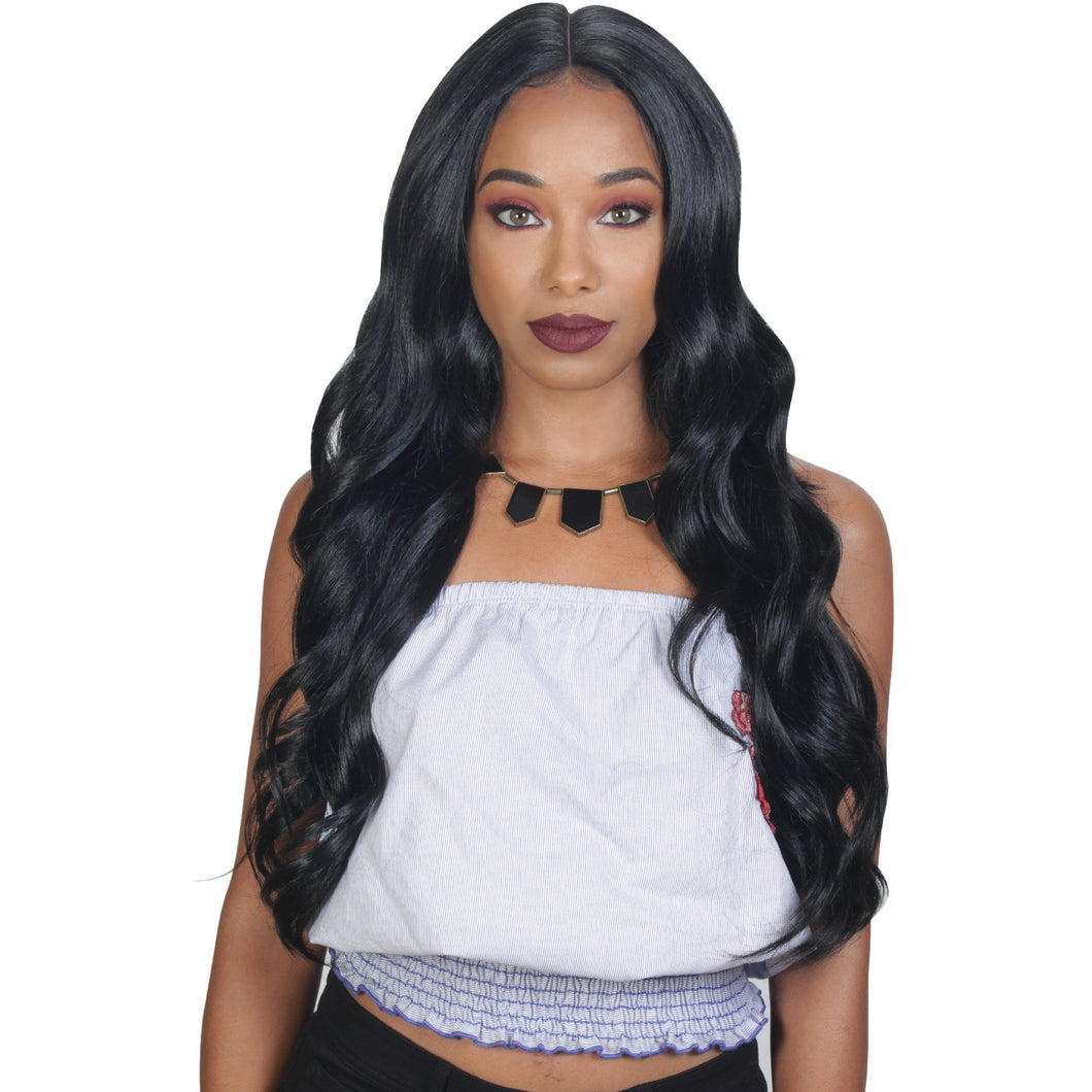 360 LACE FRONT CROSS PART BODY WAVE - Elegance24seven Hair
