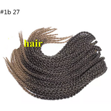 Load image into Gallery viewer, 3D Cubic Twist Braid - Elegance24seven Hair