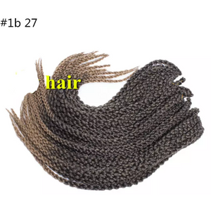 3D Cubic Twist Braid - Elegance24seven Hair