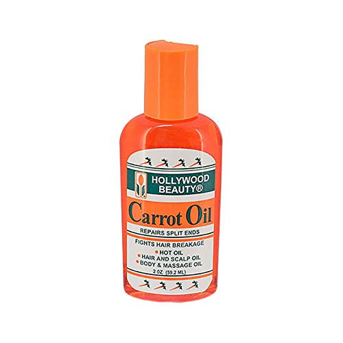 Hollywood Beauty Carrot Oil For Hair or Body, 2 Oz - Elegance24seven Hair