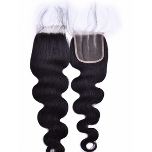 4*4  Lace Closure- Body Wave - Elegance24seven Hair