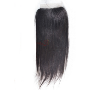 4*4  Lace Closure- Straight - Elegance24seven Hair