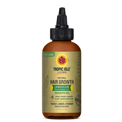 Tropical Isle Living Jamaican Black Castor Hair Growth Oil (4 oz.) - Elegance24seven Hair