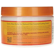Load image into Gallery viewer, Cantu Shea Butter Natural Coconut Curling Cream (2oz) - Elegance24seven Hair