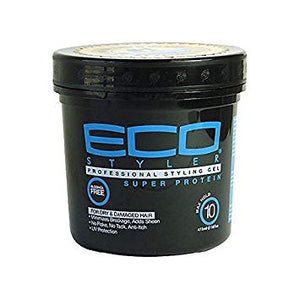 Eco Gel - Super Protein/Max Hold (8oz) - Elegance24seven Hair