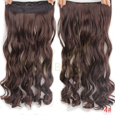 5 clips hair curly - elegance24sevendotcom