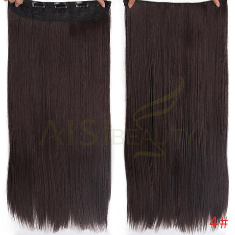 Straight synthetic clip in hair - Elegance24seven Hair