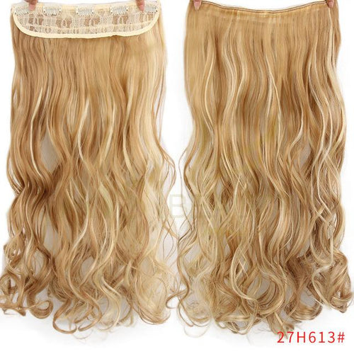 5 clips blend hair curly - Elegance24seven Hair